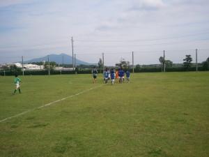 交流戦(中根FC、真壁ジュニオール、ポルターラ水戸、筑西ネストSMC)