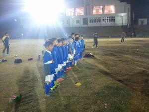U-9交流戦(つくばサッカー連盟選抜戦)