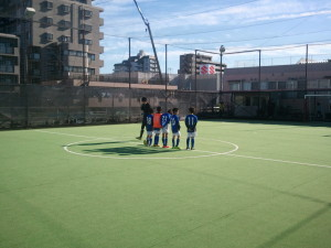 1位リーグ(対ジョイフルSCU-9、ZOTT.WASEDA戦)