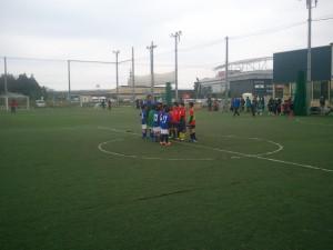 U-9交流戦(対つくばサッカー連盟選抜、FCレジスタ戦)