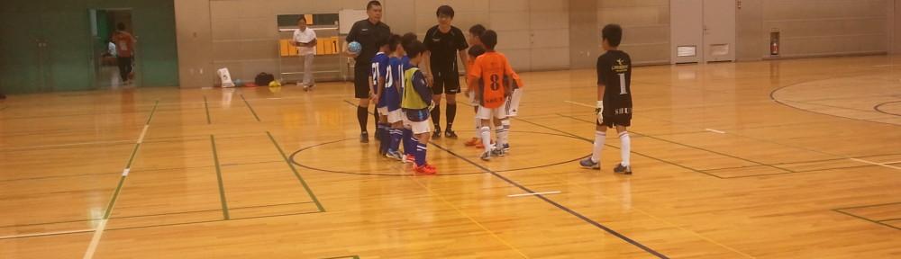 Fリーグ府中アスレティックFC対バサジィ大分戦前座試合(対LIBLE FC戦)