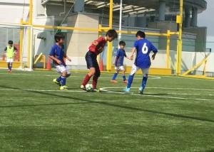 対布佐少年サッカークラブ戦