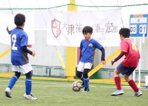 予選リーグ(対布佐サッカークラブ戦)