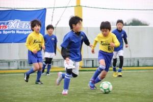 予選リーグ(対柏SSS戦)
