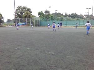 U-12交流戦(対ALLEGRIA、とりで倶楽部戦)