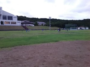 U-12交流戦(対フェリースFC戦)