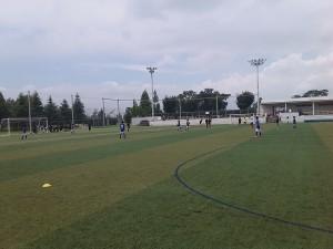 U-12交流戦(対BFC Oizumi Academy戦)