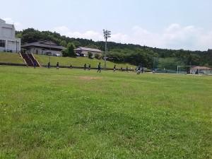 U-12交流戦(対M.I.C. FC戦)