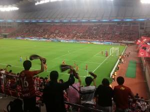 ACL準々決勝鹿島アントラーズ対天津権健